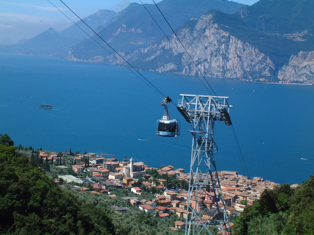 Excursion By Boat On Lake Garda In Malcesine